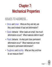 ch07 Mechanical properties