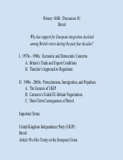 History 146B W17 Discussion 10 Brexit