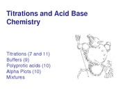 4-Strong Acid Base Titrations
