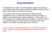 Lecture-18 Drug Interactions