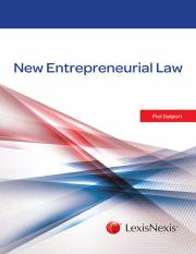 New Entrepreneurial Law book pdf - NEW ENTREPRENEURIAL LAW NEW