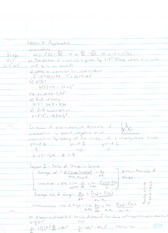 Accelaration and Related Rates Notes