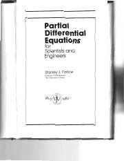 Introduction to Partial Differential Equations - Stanley Farlow