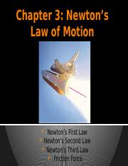 Chapter3_Newtons Law of Motion