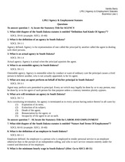 LP8.1 Agency & Employment Statutes EDITTED