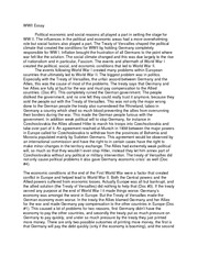 "world war ii 9 essay ""before world war one the united states attempted to stay as nuetral [sic]   continuity in united states foreign policy that would never be truly broken until  wwii."
