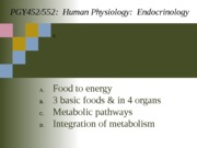 Lecture 4-Metabolism