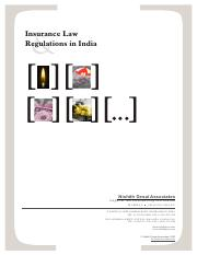 Insurance law in India.pdf
