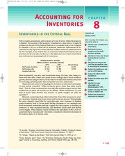 chapter8 Accounting for inventories