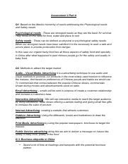 onsumer behaviour Assessment 2 Part A.pdf