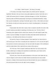 3-2-1 Report-foucault_the history of sexuality