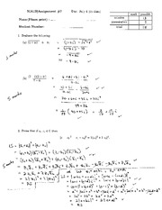 MA121 imaginary numbers proof assignment and solutions