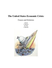 GS1140M1 Cover Page The United States Economic Crisis