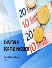 CHAPTER 9 FOR THE INVESTORS.pptx
