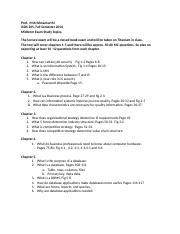 Study Guide for ISDS 265 Fall Midterm (1)