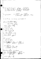 Multivariable Calculus 10.4 Homework Solutions