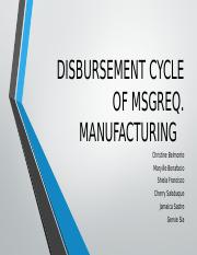 DISBURSEMENT CYCLE OF MSGR REQ.pptx
