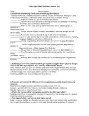 Elder Aged Adult Worksheet-1 (1) - Elder/Aged Adult ...