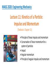 1_Impulse and Momentum