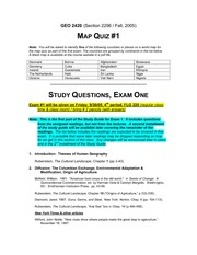 StudyGuide1a-GEO-2420-05