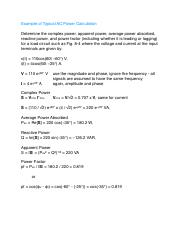 Example AC Power Calculation.pdf