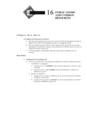 Chapter 16 Textbook Outline and Answers