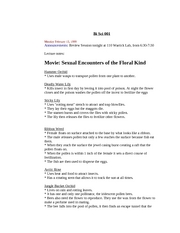 Movie: Sexual Encounters of the Floral Kind