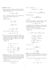 Homework 3 Solution Fall 2007 on Differential Equations with Linear Algebra 1