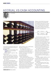Ian Hilton cash v accrual accounting