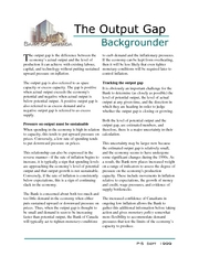 7. The Output Gap (Ch10-11)