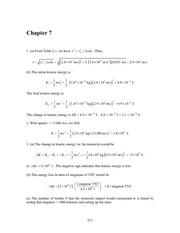 Physics Chapter 7 solutions