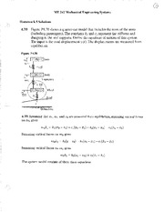 HW 05 Solutions