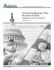 GAP_understand the tax system