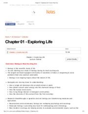 Chapter 01 - Exploring Life _ Course-Notes