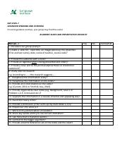 ESL9703 Academic Presentation Slides and Presentation Checklist.pdf