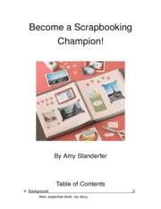 Become a Scrapbooking Champion