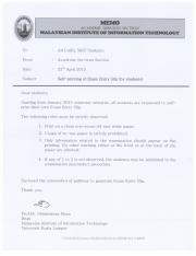 Memo to students-exam entry slip_LATEST