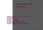 treatment and therapy12