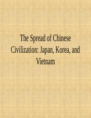 The-Spread-of-Chinese-Civilization--Japan,-Korea,-and-Vietnam.ppt