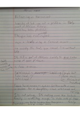 food scarcity notes