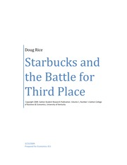 Starbucks and the Battle for Third Place