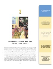 3 - Interdependence and the Gains from Trade