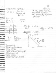Midpoint method notes