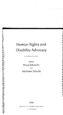 Intro and Chapter 1 Human Rights and Disability