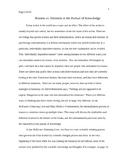 Narrative Essay Topics For High School  Pages English Essay Enduring Love V Frankenstein Apa Essay Paper also Science And Society Essay English Essay Enduring Love V Frankenstein   Engl  Reason  The Yellow Wallpaper Character Analysis Essay