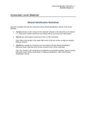 glg 220 mineral identification worksheet