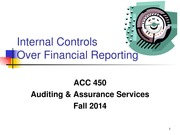 ACC 450 15 Internal Controls Fall 14