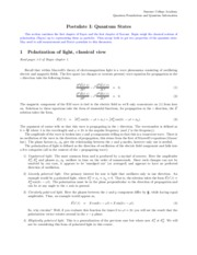 Lecture Notes 1: Polarized Light, Photons, & Quantum States