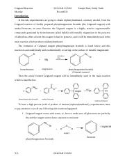 Grignard reaction.docx