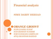 Financial Analysis - Sime Darby Berhad
